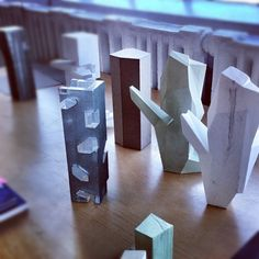 Study models at Steven Holl Architects #architecture (Taken with instagram)