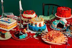 Discover Seoul: Dinga Cake House, K-Pop's Favorite Bakery Kitsch, Pretty Cakes, Cute Cakes, Korean Cake, Vintage Birthday, Aesthetic Food, Vintage Recipes, Cute Food, Let Them Eat Cake