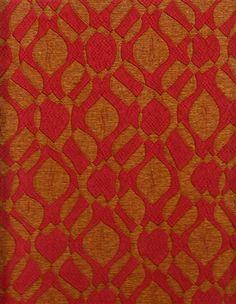 Pollack Upholstery Fabric Mod Poppy BTY CG1