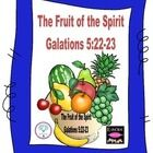 Fruit of the Spirit in color & black & white freebie