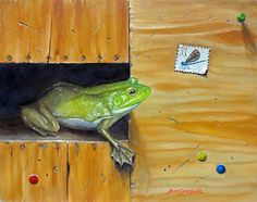 John Schisler - Determination- Oil - Painting entry - May 2015 | BoldBrush Painting Competition