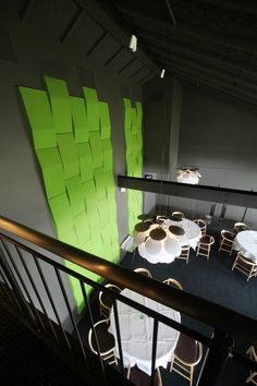 Tri-Line Wall acoustic wall panels from Abstracta (exclusively thru ICF in North America).