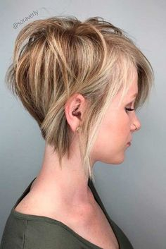 Short A-Line Bob with Side Bang