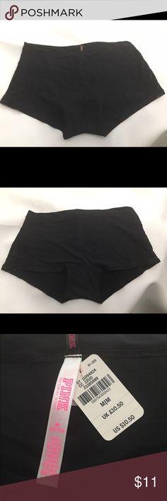 PINK black and lace Boyshort ✨BNWT✨ PINK Victoria's Secret Intimates & Sleepwear Panties