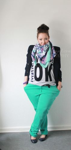 Everything will be OK! Plus Size Fashion for the Spring!