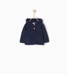 Striped top with elbow patches-TOPS-MINI   0-12 months-KIDS   ZARA United States