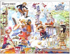 RolonoaZoro Gallery :: Color Spreads (Illustrazioni a colori) :: 353_sheeppaint
