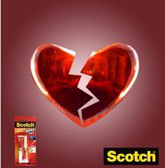Hay algunas cosas que simplemente no se pueden pegar..  ¡Para todo lo demás está Super Glue de Scotch!