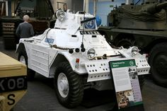 The Tank Museum, Bovington - 1953 British Ferret Scout Car Mk 2 | by growler2ndrow