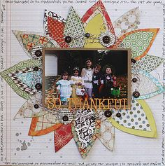 Love this layout for fall from Lily Bee - must scraplift!!