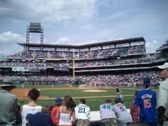 Citizen's Bank Park. Mets vs Philadelphia June 30, 2007.  Last game the Mets beat the Phillies all year (8 games to go!). Unofficially marks the last time a Mets fan could go to Philly to catch a ballgame before the Eagles fans discovered that their baseball team was pretty good.