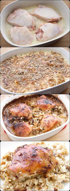 Chicken Rice Bake