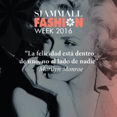 """""""La felicidad está dentro de uno, no al lado de nadie"""" Marilyn Monroe #Frase #Tenerife #Inspiración   """"Happiness is inside you, not next to anyone"""" Marilyn Monroe #Quotes"""