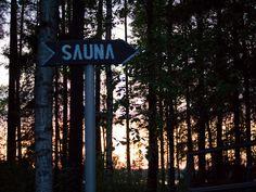 Going to sauna