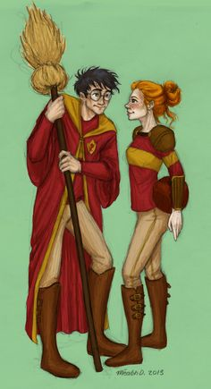 Harry and Ginny ❤️