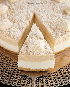 Food Fantasy, Cheesecakes, Feta, Cake Recipes, Food And Drink, Cooking Recipes, Sweets, Chocolate, Baking