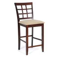 Have to have it. Katelyn Wood Modern Counter Stool - Brown $85.99