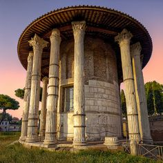 Roma ♠ Tempio di Vesta| Flickr - Photo Sharing!
