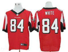 NFL Jerseys NFL - Nike Atlanta Falcons #84 Roddy White Black Elite Jersey | NFL ...