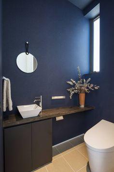 『Skip』 - Titi Tutorial and Ideas Bathroom Layout, Small Bathroom, Bathrooms, Sweet Home Design, Restroom Design, Toilet Room, Toilet Design, Cafe Style, Model Homes