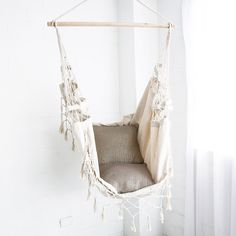 Hangit Hammock Swing provides you with great recreational products for your outdoor and needs. Buy these beautiful through the exclusive online Hammock Store Hangit. Bedroom Swing, Bedroom Chair, Bedroom Decor, Bedroom Ideas, Comfy Bedroom, Dream Bedroom, Hanging Hammock Chair, Swinging Chair, Hanging Chairs