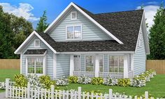 Craftsman House Plan chp-54589 at COOLhouseplans.com