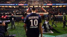 Ibrahimovic PSG campeão (créditos: AFP)