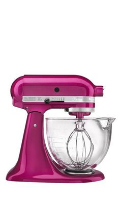 KitchenAid Artisan Design Series 5 Qt Stand Mixer in Raspberry Ice