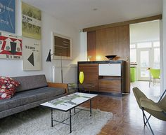 Span House interior (photo by Tim Crocker - link broken)
