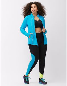 da739a51649 Plus size running jacket by LIVI ACTIVE