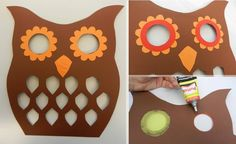 Free DIY template: make the lantern owl yourself crafts Fall Crafts For Kids, Diy For Kids, Kids Crafts, Diy And Crafts, Arts And Crafts, Owl Lantern, Light Crafts, Fall Diy, Paper Lanterns