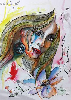 Dai #aquarela #watercolor