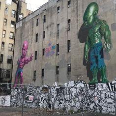 "30 Gostos, 2 Comentários - Laurent Le Mercier (@llmpc) no Instagram: ""Little Italy NY #newyork #littleitaly #urbanandstreet #urbanwalls #urbanart #streetartnewyorkcity…"""