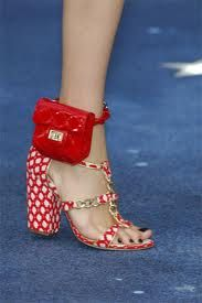 It's Chanel or a nice camouflage for your ankle monitor...hehe