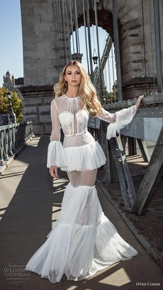 Boho wedding dress - The dress can be found in a selection of lace prints and is totally lined. The dress may also be utilized to create a complete b. Ugly Wedding Dress, Wedding Dresses 2018, Designer Wedding Dresses, Bridal Dresses, Embellished Dress, Bridal Looks, Couture Dresses, Wedding Styles, Unique Weddings