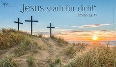 """""""Wenn er dieses schwere #Leid durchgestanden hat, sieht er wieder das #Licht und wird für sein #Leiden belohnt. Der #Herr sagt: »Mein #Bote kennt meinen #Willen, er ist schuldlos und gerecht. Aber er lässt sich für die #Sünden vieler #bestrafen, um sie von ihrer #Schuld zu befreien."""" #Jesaja 53:11 #glaubensimpulse"""