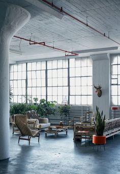 Apartamento Industrial em NY (Foto: Mark Seelen)