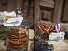 french rustic wedding shower | At day's end, guests were sent home with extra edible treats like ...
