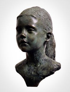 'Carliene' Life-size bronze. By Mark Richards FRBS