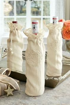 Tra La La Wine Bags - Turn your wine into a gorgeous, extra-special gift | Soft Surroundings