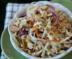 Crunchy Coleslaw - Everyone should have at least one version of this recipe.