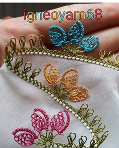 The sighting # # # igneoyamodel # Igneon the Duke& wedding suit # # # instagood likeforlikes point # # . Crochet Unique, Crochet Lace Edging, Crochet Borders, Beautiful Crochet, Diy Crafts Slime, Diy And Crafts, Hairpin Lace, Album Design, Simple Flower Design