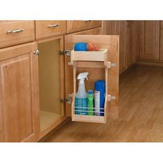 Rev-a-Shelf Door Storage Cleaning Organizer | from hayneedle.com