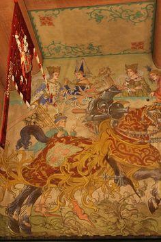 Fresque dans la salle du Kaiser