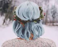 Resultado de imagem para cabelo cinza tumblr