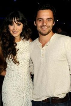 Zooey Deschanel and Jake Johnson