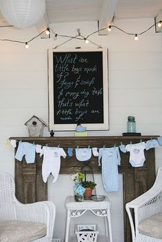 Baby boy shower party-ideas