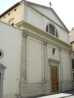CHIESA DI SANTA LUCIA AL PRATO: #Firenze.