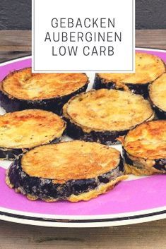 Baked eggplant lowcarb - All Recipes Simple Muffin Recipe, Healthy Muffin Recipes, Healthy Dinner Recipes, Healthy Snacks, Snack Recipes, Crockpot Recipes, Soup Recipes, Law Carb, Baked Eggplant