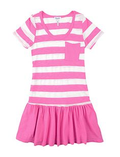 Splendid Girls' Rugby Ruffle Dress #coloreveryday